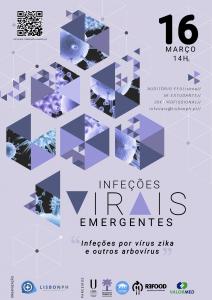 """Simpósio """"Infeções Virais Emergentes: Infeções por vírus zika e outros arbovírus"""""""