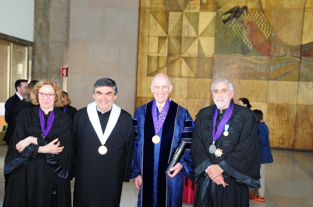 Doutoramento Honoris Causa – Leslie Benet