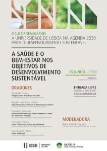 """Seminário """"A Saúde e o Bem-Estar nos Objetivos de Desenvolvimento Sustentável"""""""