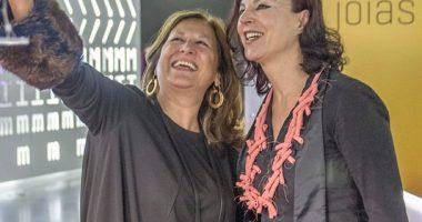 Rosalia Vargas (Presidente do Pavilhão do Conhecimento, Centro Ciência Viva) e Elsa Anes (Professora e Investigaora da FFUL)